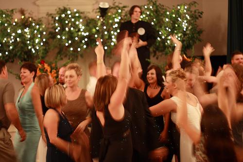 Dancing to Wedding Music