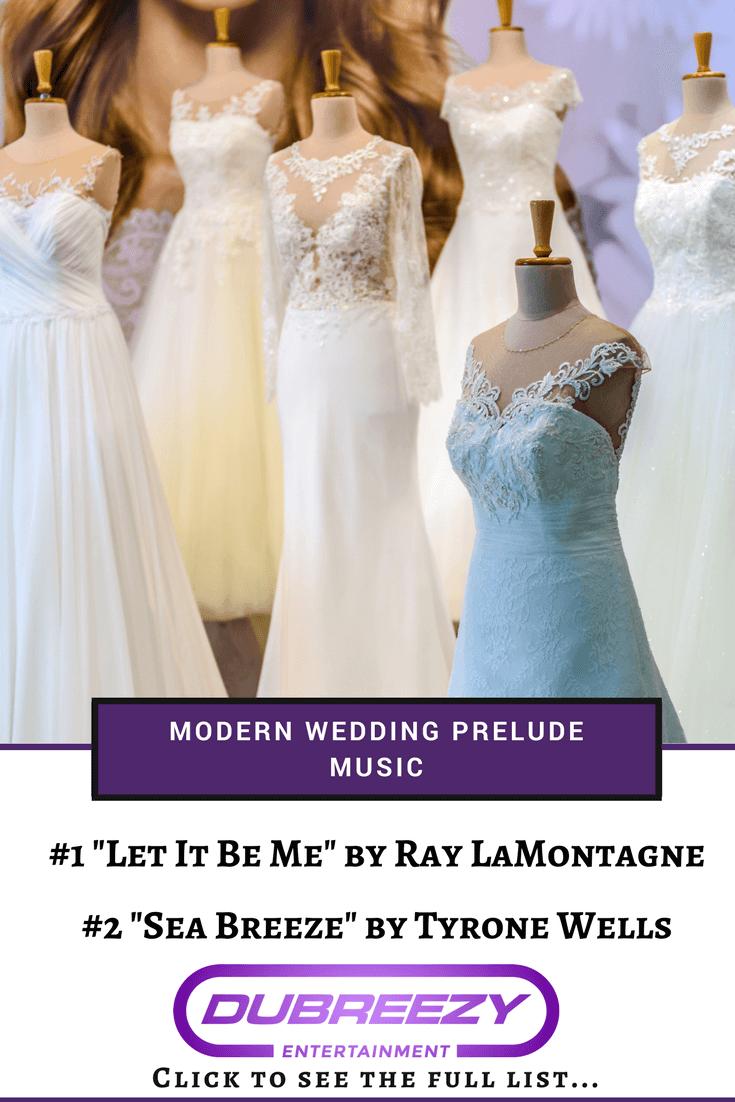 modern wedding prelude music