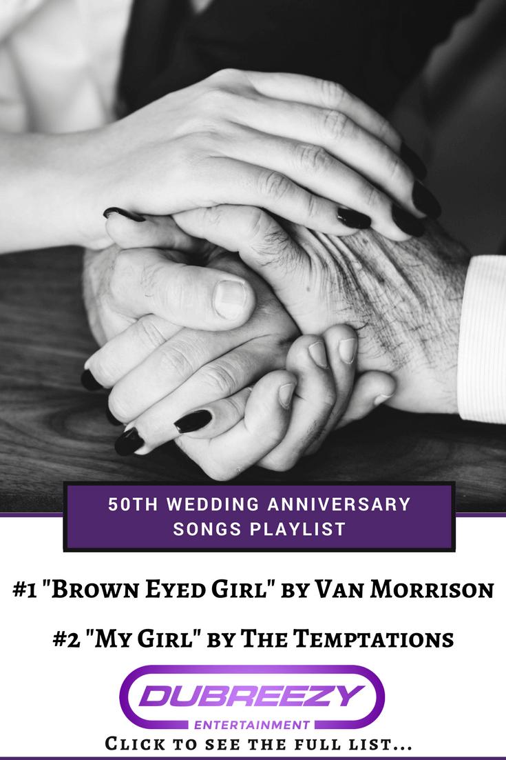 50th wedding anniversary songs