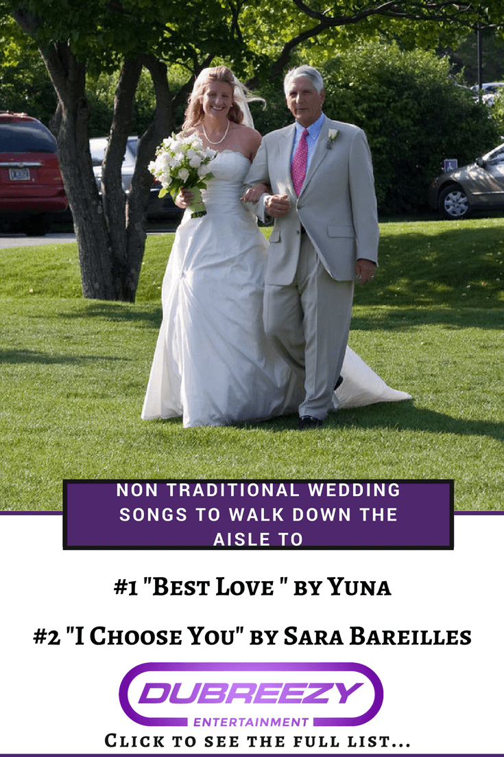 non traditional songs to walk down the aisle to