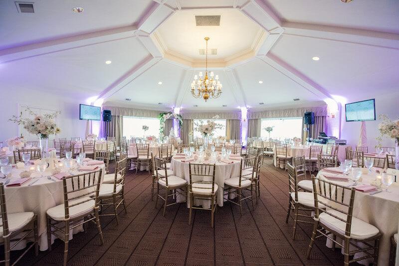 wireless uplighting Seattle wedding