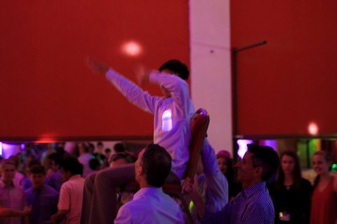 The Hora at a Bar Mitzvah party in Seattle with DJ Dubreezy