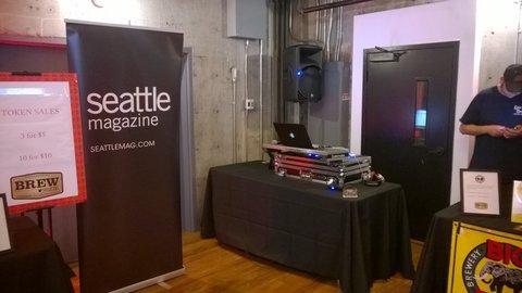 brew Seattle dj setup