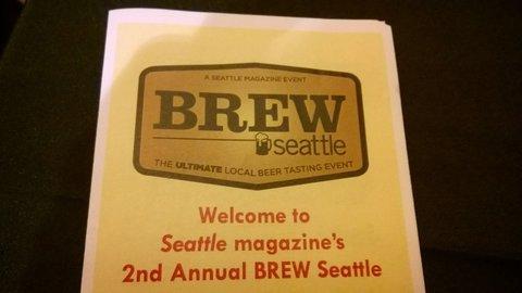 brew Seattle brochure