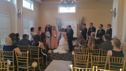 Majestic Inn and Spa Wedding Ceremony