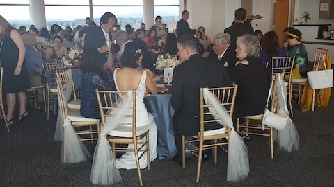 pacific tower wedding