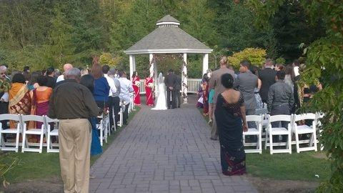 pickering barn wedding ceremony