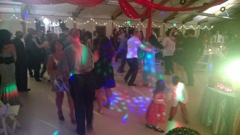 pickering barn wedding dj dance