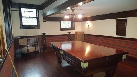 stimson green mansion seattle pool room