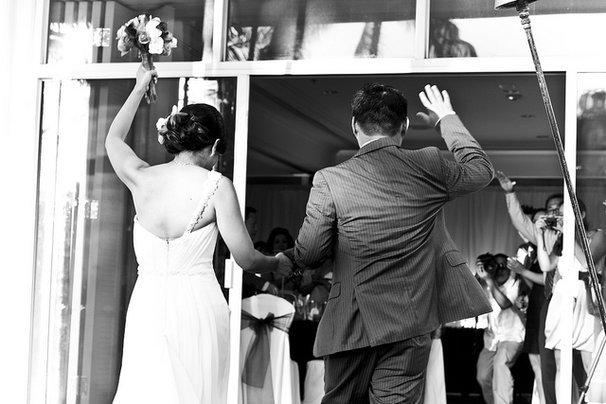 wedding grand entrance idea
