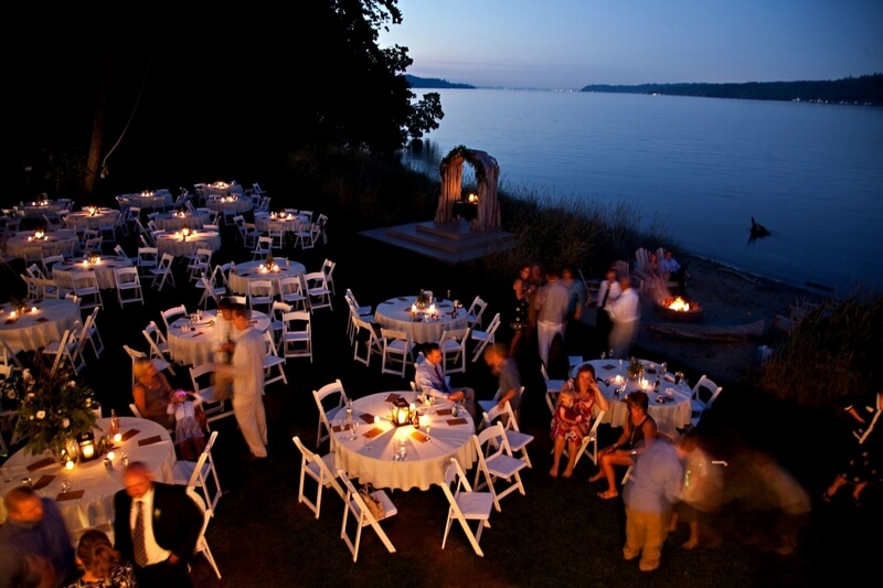 Waterfront Wedding Venues In Washington State The Edge Water House